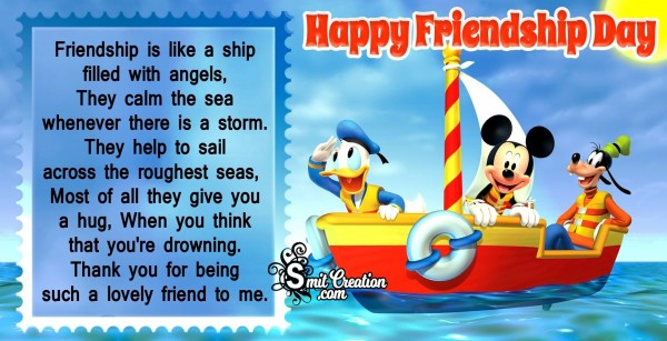 Friendship Is A Ship