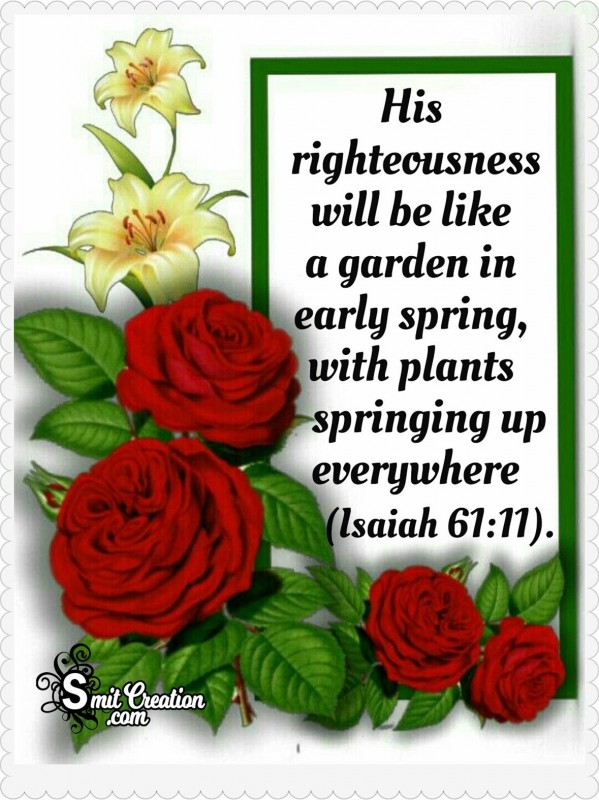 Bible Early Spring Quote