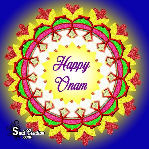 Happy Onam Rangoli