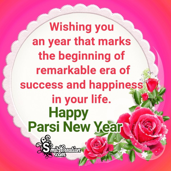 Happy Parsi New Year