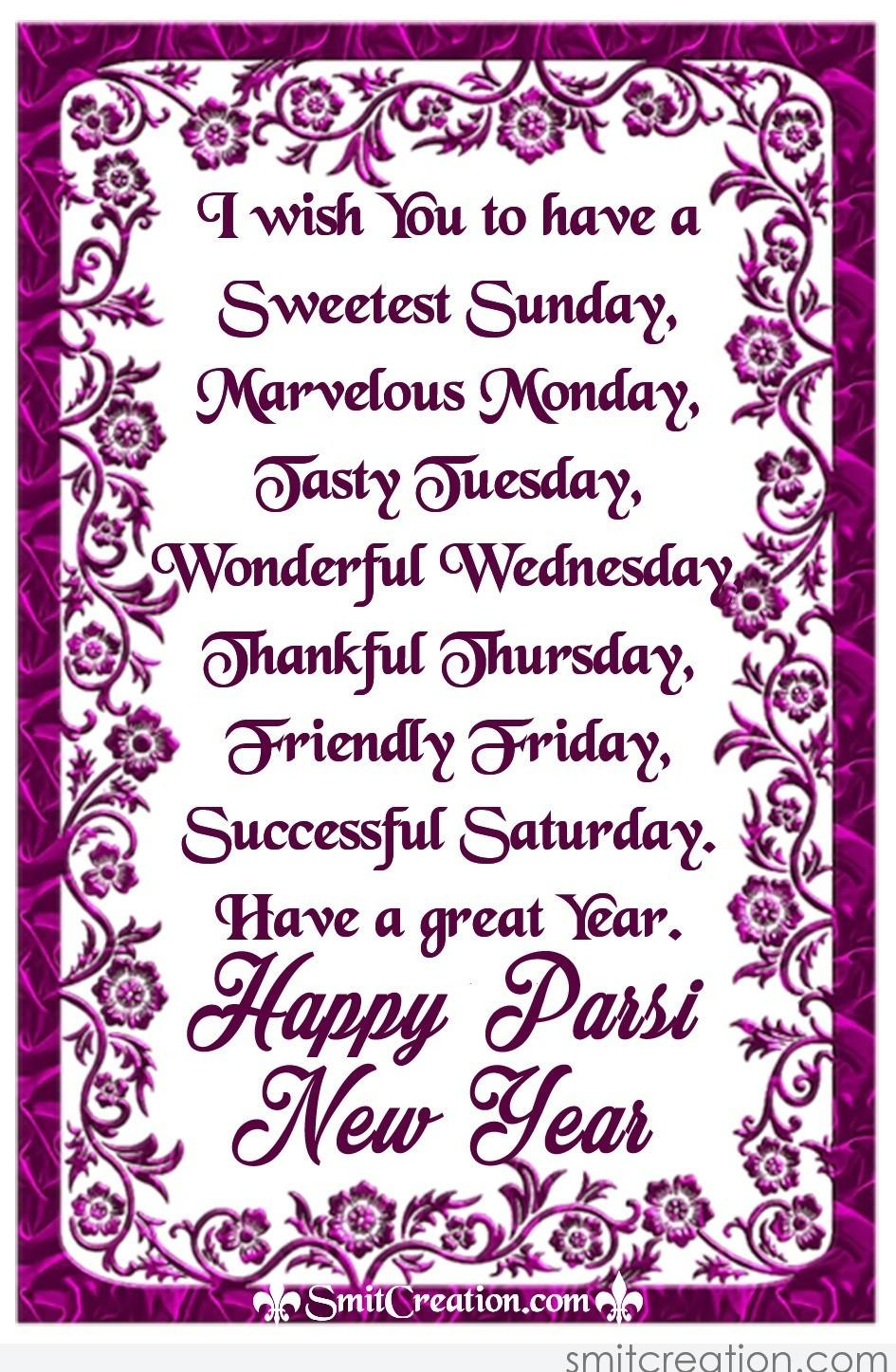 Parsi New Year Pictures and Graphics - SmitCreation.com ...