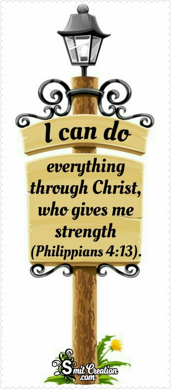 I Can Do Everything Through Christ