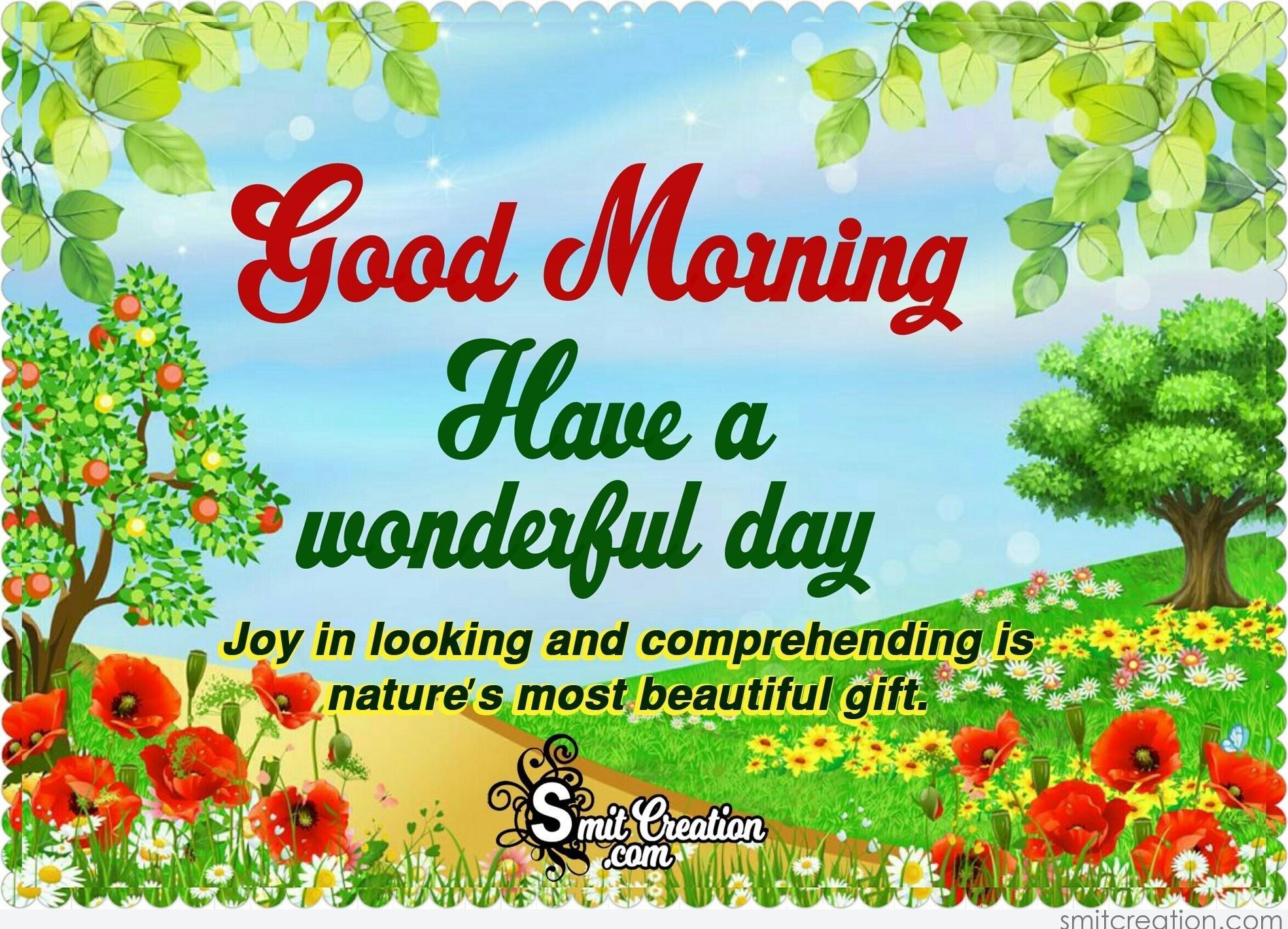Good Morning Nature Quotes Images Smitcreation Com