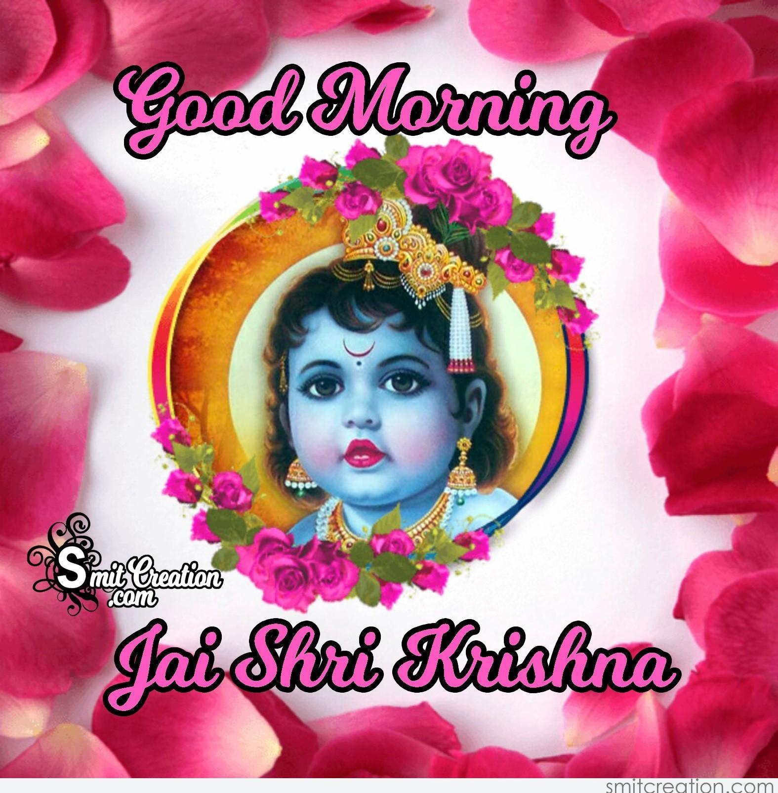 Good Morning Jai Shri Krishna Smitcreationcom