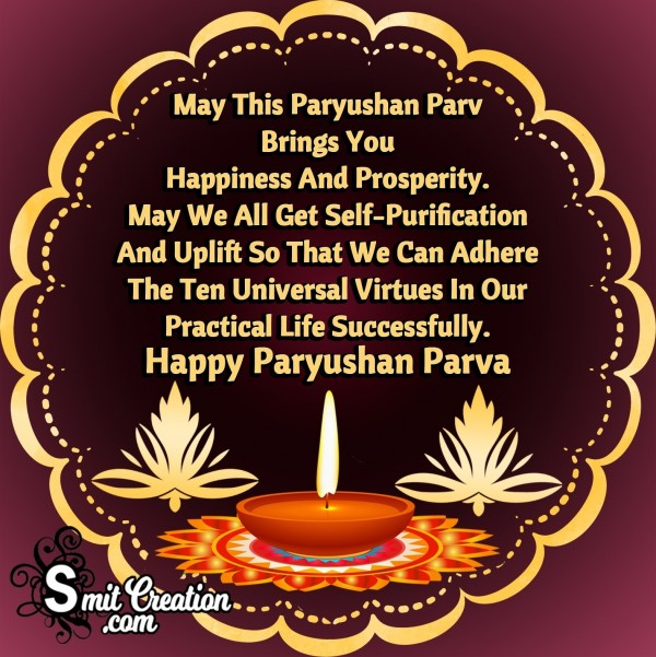 Happy Paryushan Parva