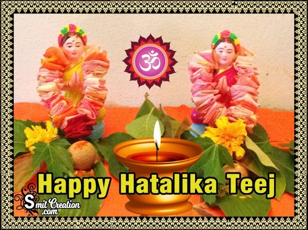 Happy Hartalika Teej