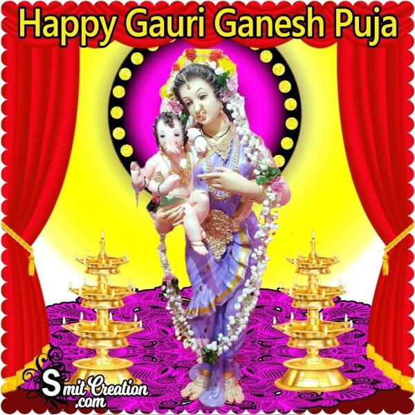 Happy Gauri  Ganesh Puja