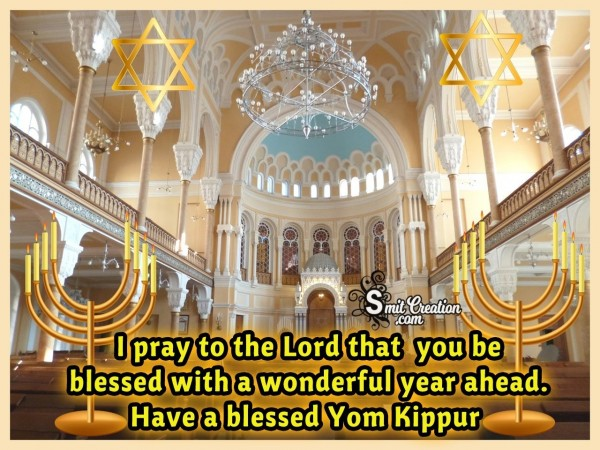 Have A Blessed Yom Kippur