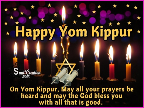 Happy Yom Kippur