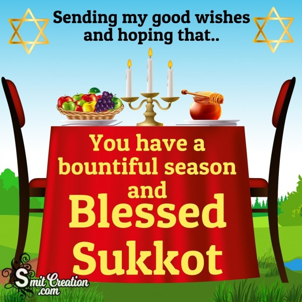 Good Wishes On Sukkot