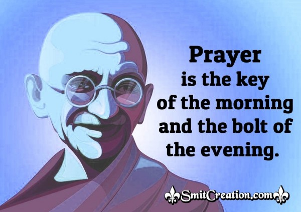Gandhi Quote On Prayer