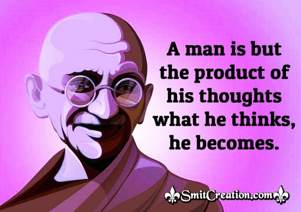 Thinking Quote Of Gandhi