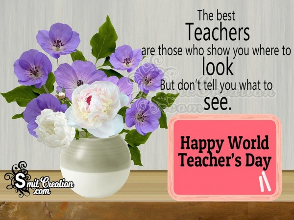Happy World Teachers' Day