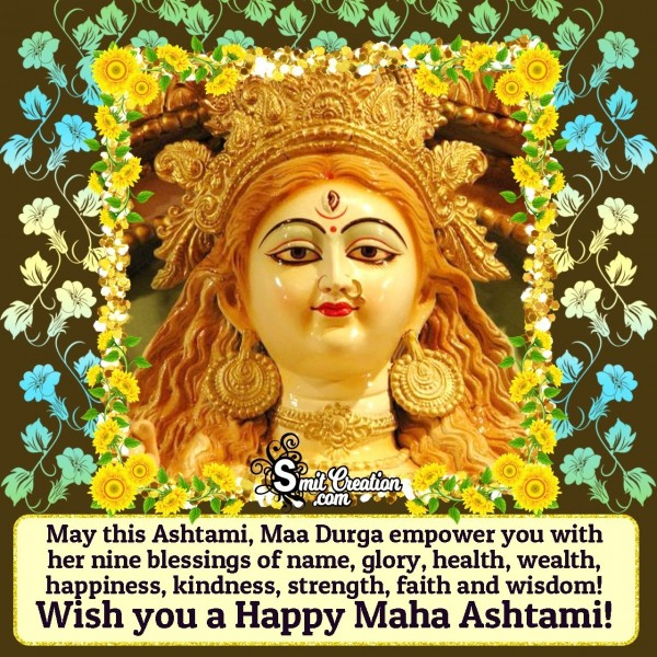Wish You A Happy Maha Ashtami!