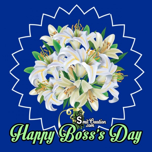 Happy Boss's Day Flower