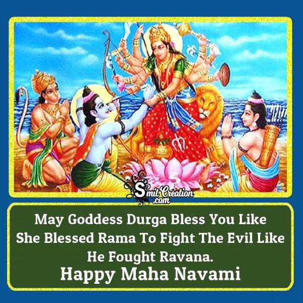 Happy Maha Navami Blessings