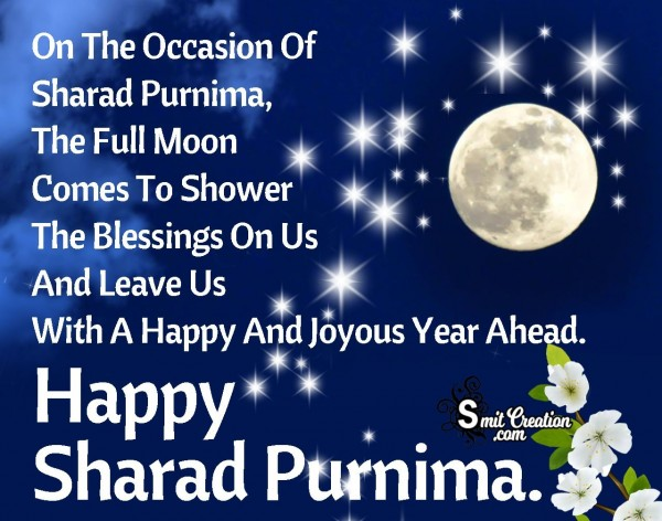 May You Have A Happy Sharad Purnima.