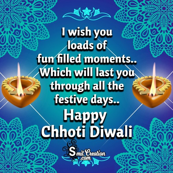 Happy Chhoti Diwali Wishes