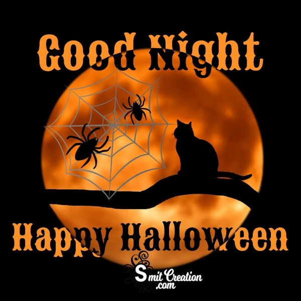 Good Night Happy Halloween