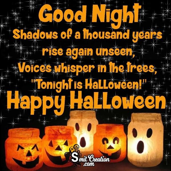 Good Night Happy Halloween