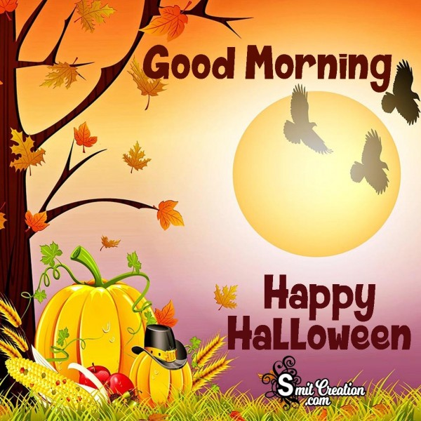 Good Morning Happy Halloween Images