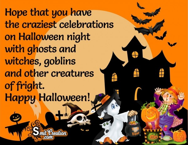 Happy Halloween Wishes For Celebrations