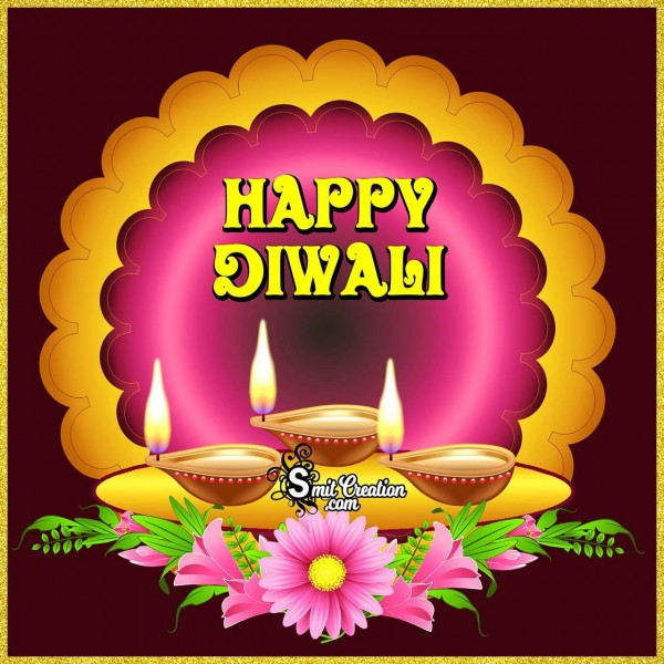 Happy Diwali Beautiful Card