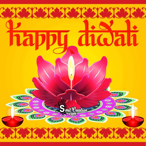 Happy Diwali Creative Card