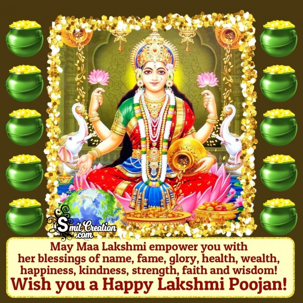 Happy Lakshmi Puja Wishes, Quotes, Messages Images
