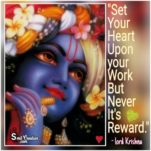 Set Your Heart upon Your Work