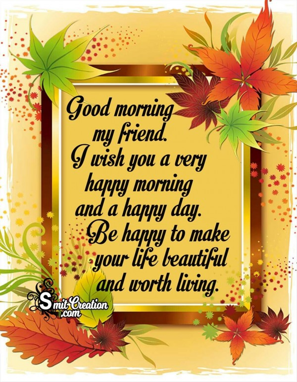 Good Morning Wish For Happy Morning