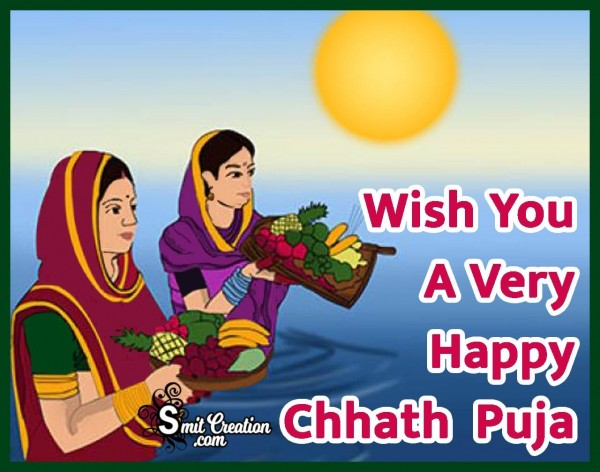 Wish You A Happy Chhath Puja
