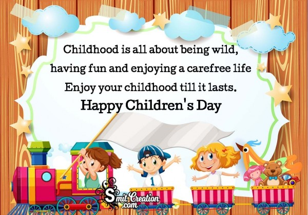 Happy Children's Day Quote Wishes