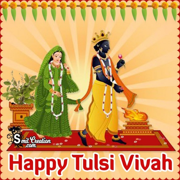 Happy Tulsi Vivah