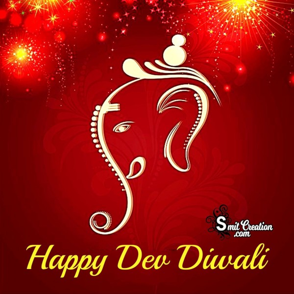Happy Dev Diwali Ganesha Photo