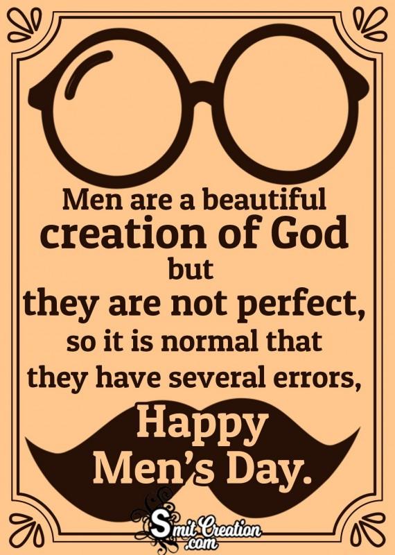 Happy Men's Day Quote