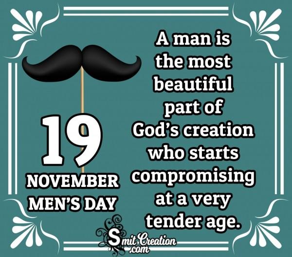19 November Men's Day Quote