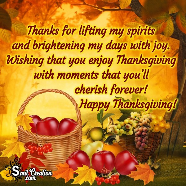 Happy Thanksgiving Wishes Quote