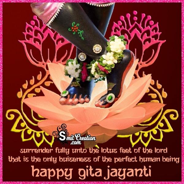 Happy Gita Jayanti