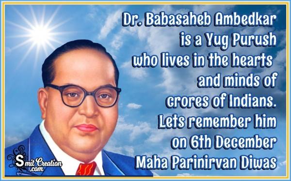 Dr. Babasaheb Ambedkar Mahaparinirvan Diwas