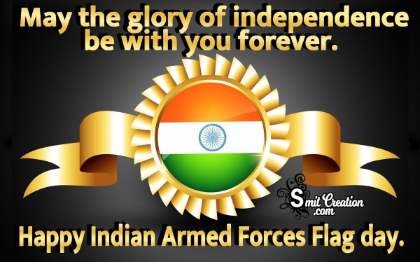 Happy Indian Armed Forces Flag Day