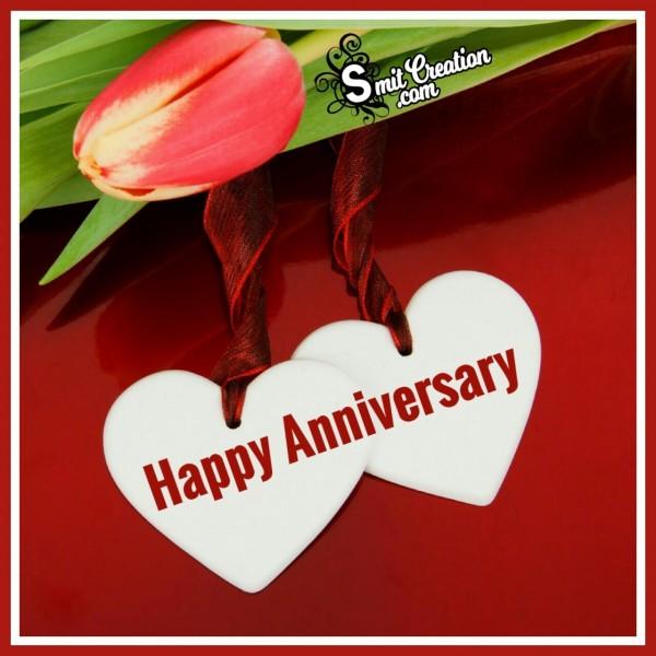 Happy Anniversary Two Hearts