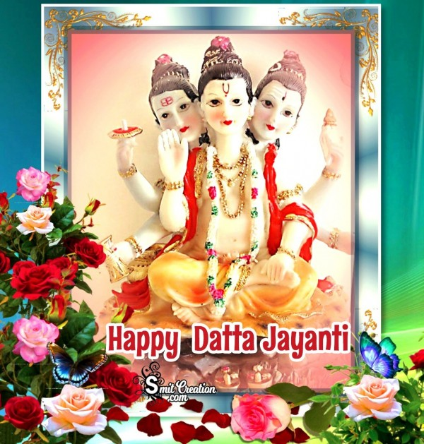 Happy Datta Jayanti Beautiful Photo