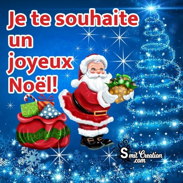 Je te souhaite un joyeux Noël!