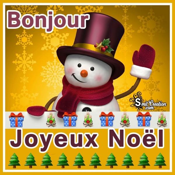 Bonjour !!!!! Joyeux noël !!!!