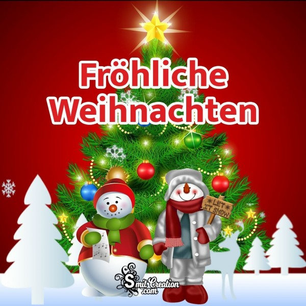 Fröhliche Weihnachten Foto