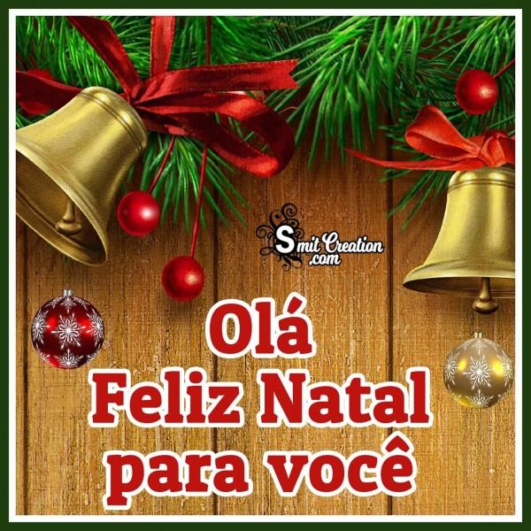 Olá Feliz Natal Para Você