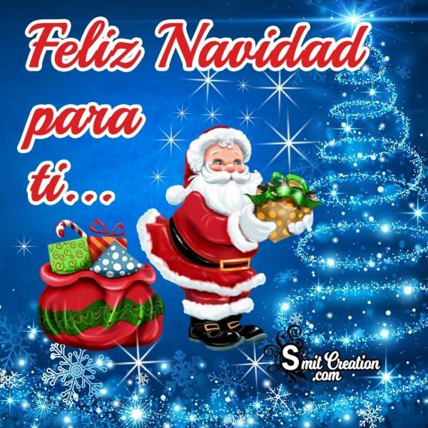 Feliz Navidad Para Ti Foto