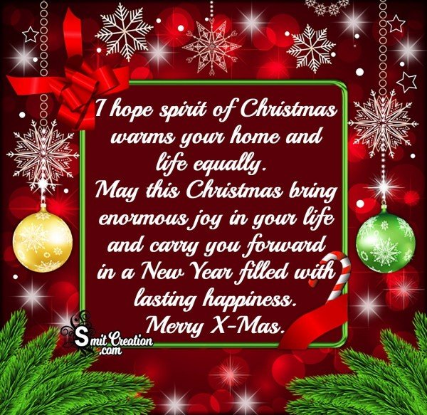 Christmas Bring Enormous Joy In Your Life