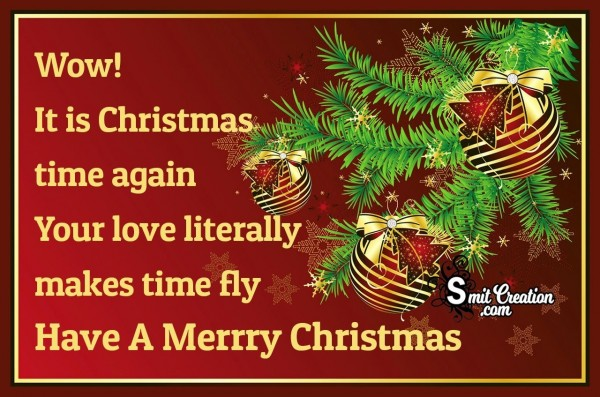 Have A Merrry Christmas